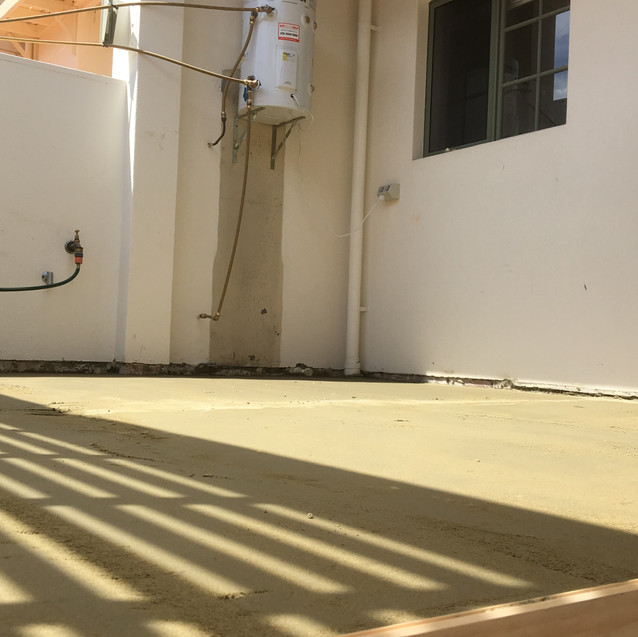 Conspar waterproofing and tiling project at this riverside East Perth property.