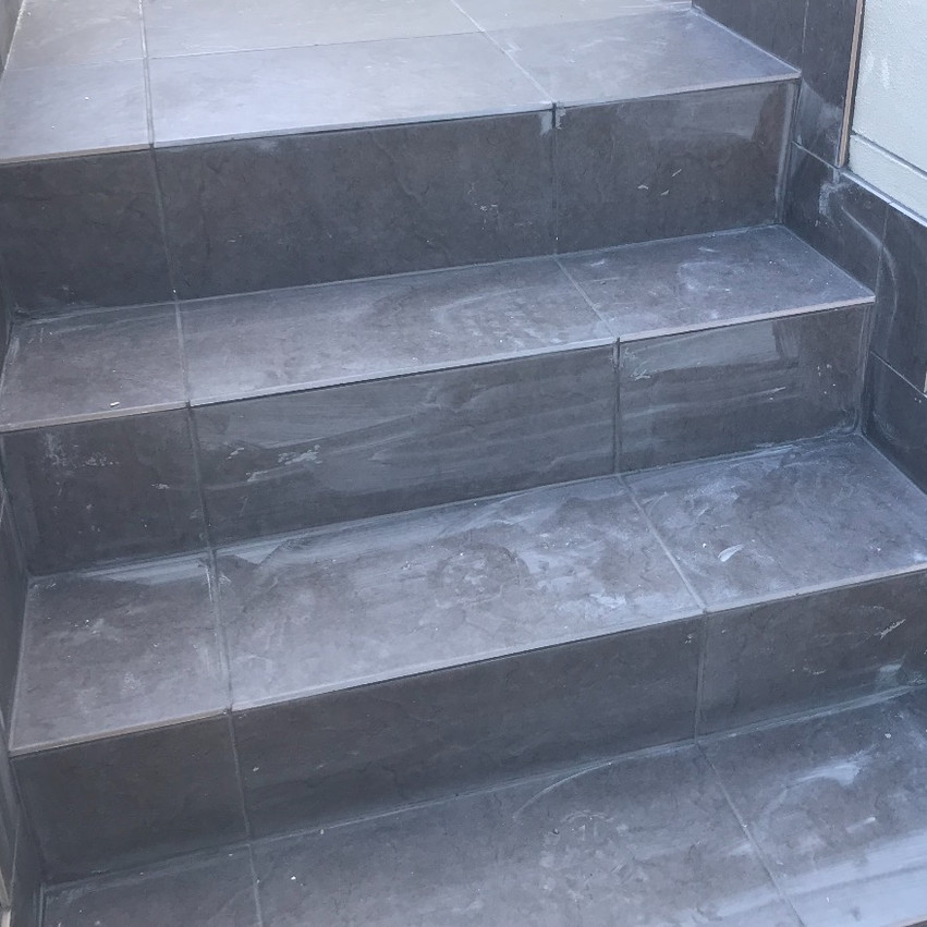 Conspar waterproofing and retiling of a staircase at this residential apartment building in South Perth.