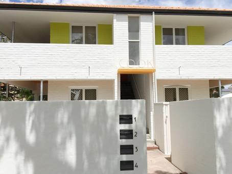 Crawley residential unit block restoration project