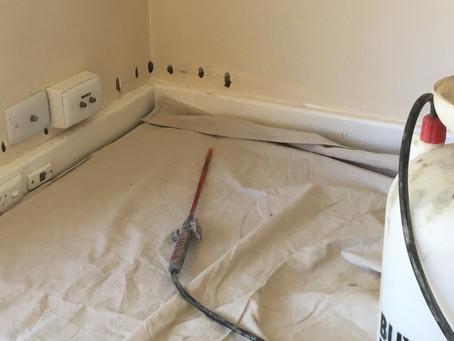 Applecross rising damp treatment for residential property