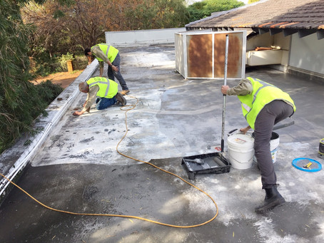 Belmont City Council waterproofing works