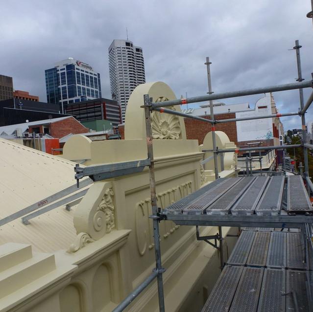 Conspar heritage restoration project, Perth's CBD