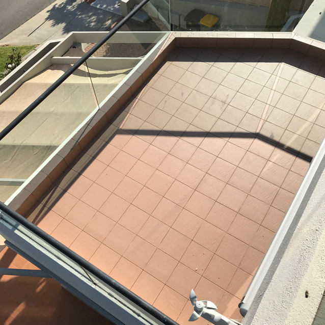 Conspar waterproofing and retiling of balconies at this residential apartment building in South Perth.