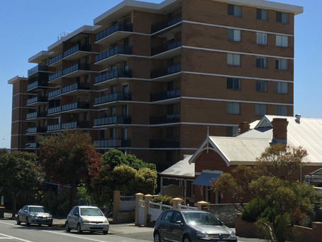 Fremantle apartment block gets upgrade