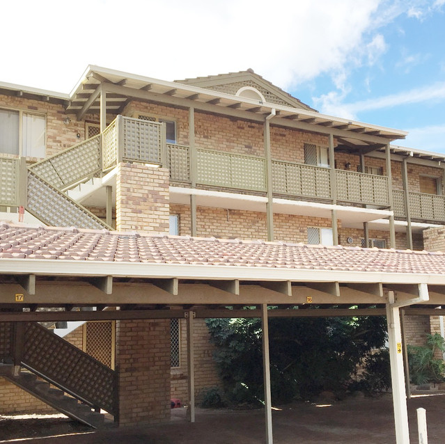 Conspar has been carrying out structural building repairs to this residential strata complex in West Perth