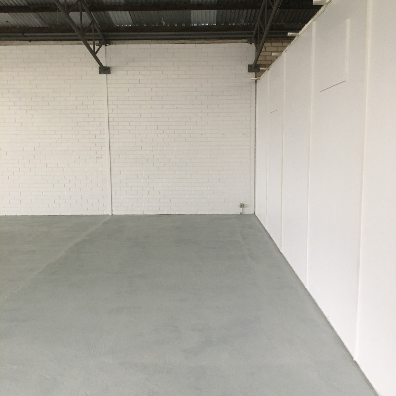 Conspar floor restoration at this commercial warehouse in Bayswater.