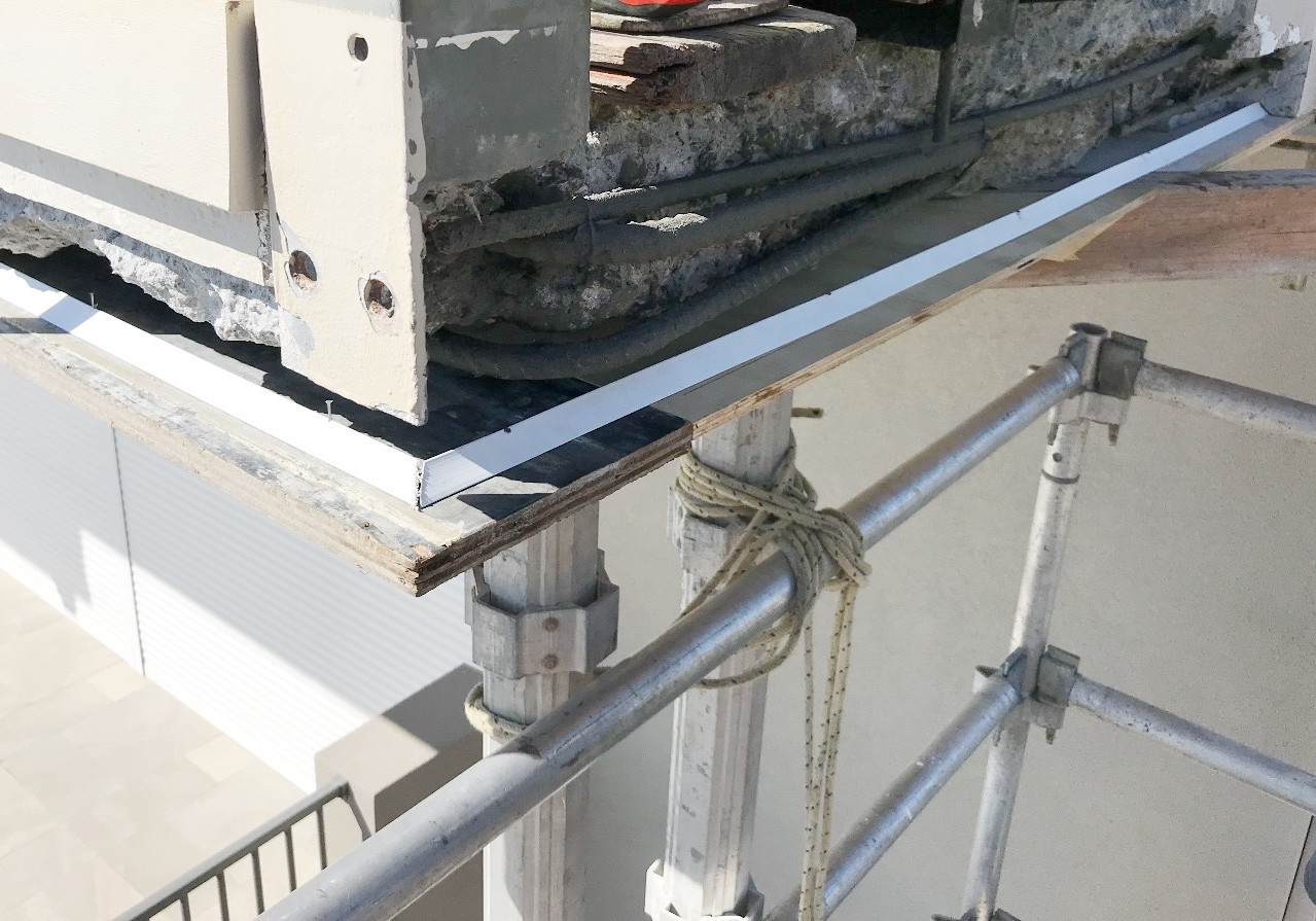 Treatment of concrete cancer at the balcony of a property in Scarborough