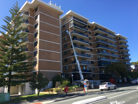 Fremantle high rise structural maintenance works