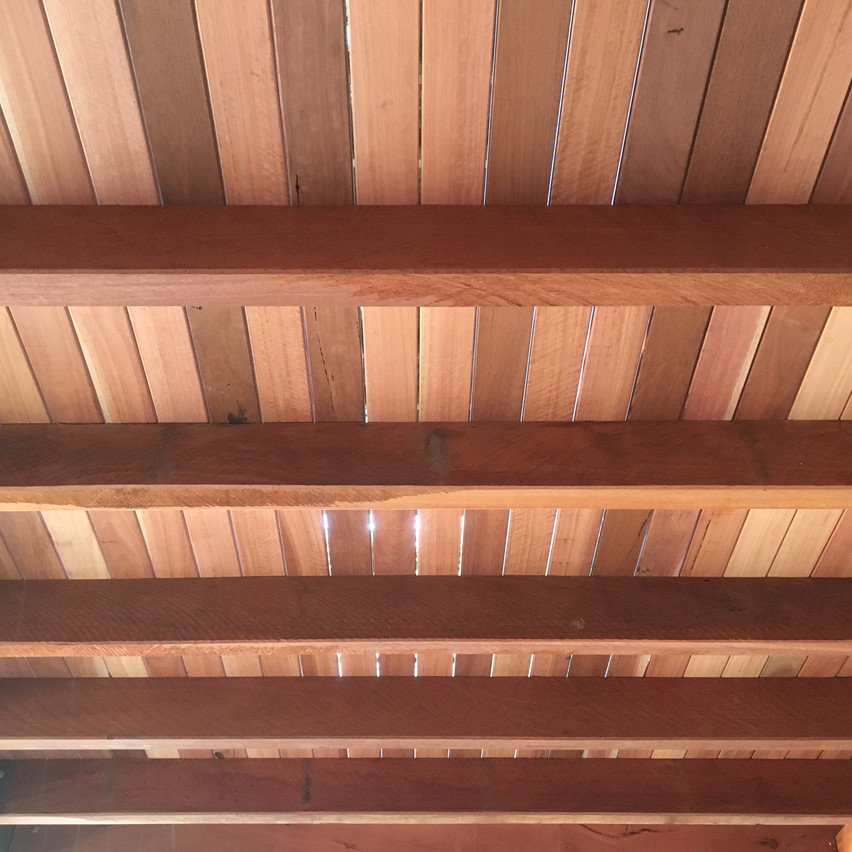 Conspar timber balcony restoration at this residential strata unit block in Peppermint Grove.