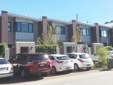 Shenton Park townhouses receive Conspar waterproofing treatment