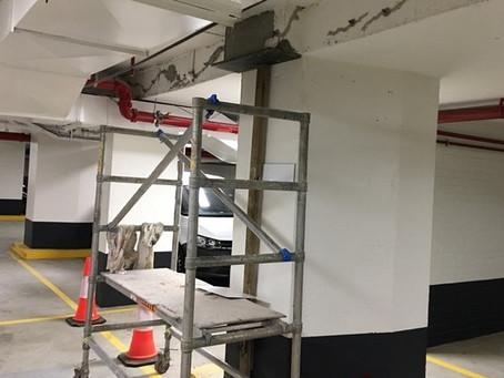 Conspar for carpark maintenance