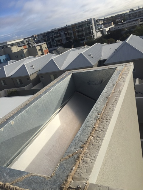 Conspar investigation and repair works to address long-term water ingress at this residential strata apartment in Northbridge.