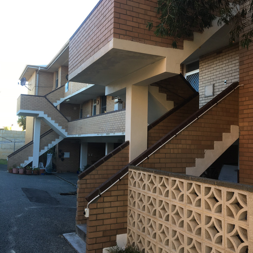 Conspar protective coatings, Cottesloe residential apartment complex project (Perth).