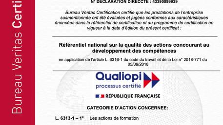 GEM-K Certifié Qualiopi