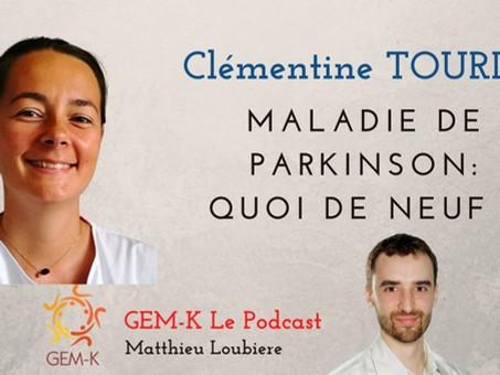 La maladie de Parkinson : quoi de neuf dans la rééducation ? Clémentine Tourlet - Episode n°27