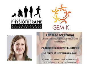 Screening Medical pour les kinésithérapeutes - Kerstin Luedtke - Interview n°17