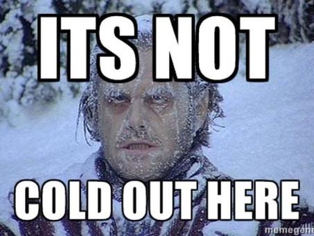 Un coup de froid !