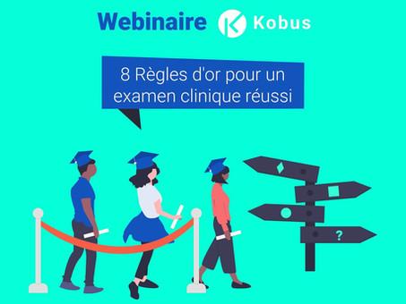 Les 8 points clés pour réussir son examen clinique - Avec Kobus