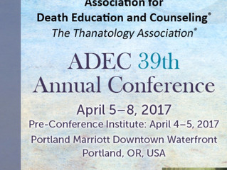 39th Annual Conference of Association for Death Education and Counselling