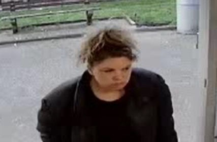 Lone Female Suspect Takes Bottle Of Gin