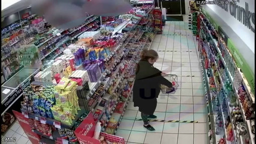 Female suspect Spar Stafford