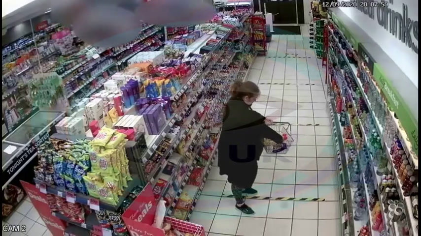 Female suspect Spar Stafford
