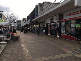 Broad Walk Harlow town Essex