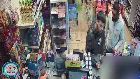 **With audio** Attempted card fraud Kings Norton Birmingham 29th May 2019