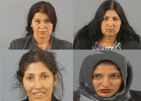 Four thieving mums