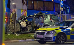 Two people have died in a car crash