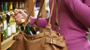 Shoplifting at supermarkets on the rise.
