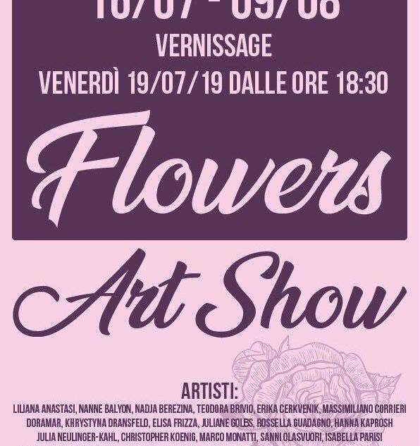 flowers art show