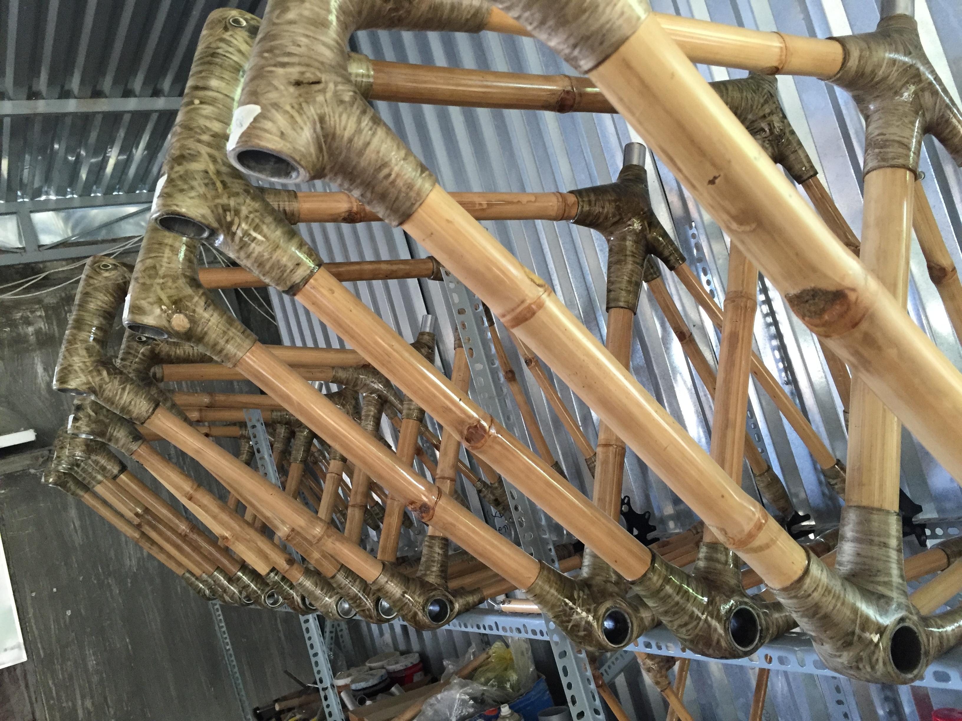 Hochwertige Bambusrahmen
