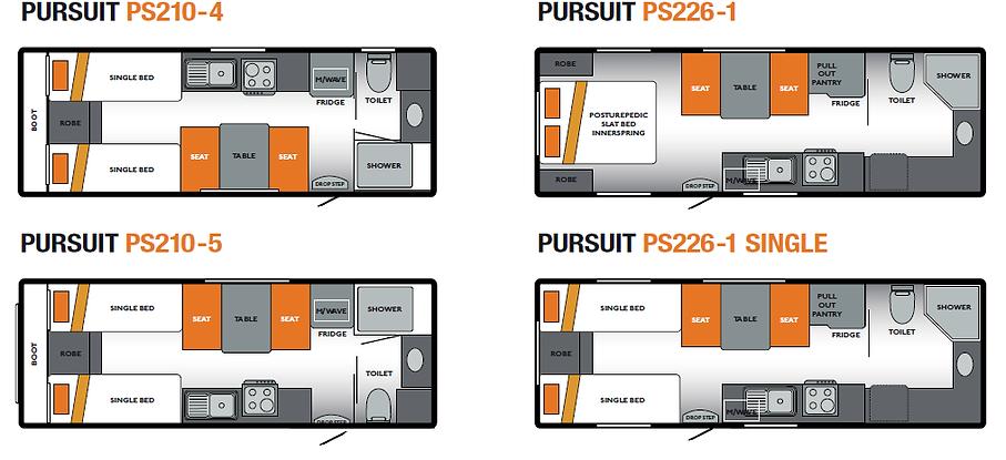 New Caravans Campbellfield Melbourne Victoria Olympic Caravans Pursuit