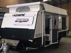 Olympic Caravans Triathlete