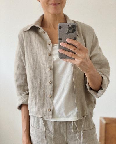Women's linen top IVY