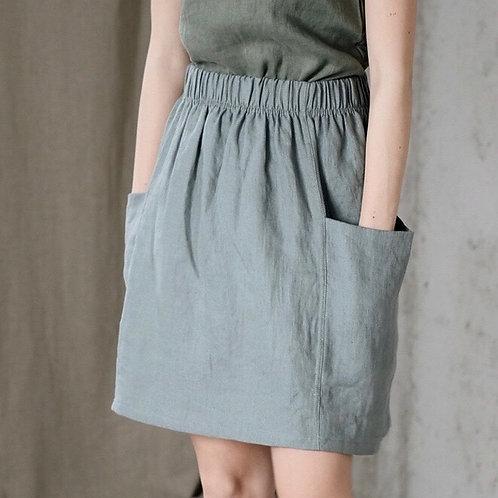 Women's linen skirt MOLLY