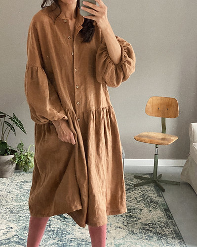 Linen dress / linen coat MEGGIE