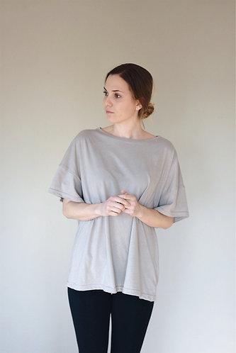 Women's lightweight OVERSIZED t-shirt - 100% organic cotton
