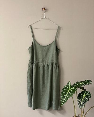 Dress ELENA, Olive, S