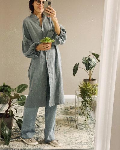 Linen dress / linen coat MARINA