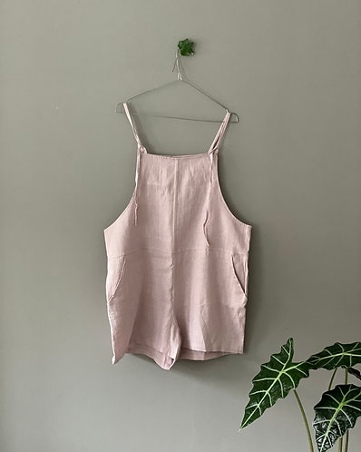 Shortalls BUDDY, dusty pink, L