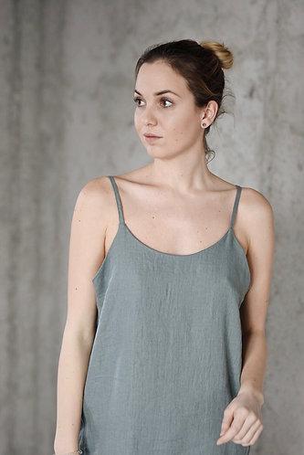 Women's linen slip dress ANNA