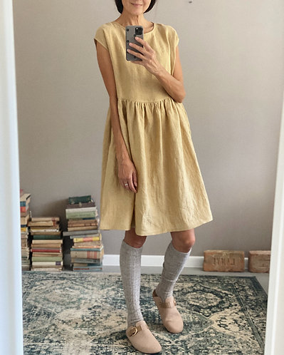 Women's linen dress AMELIA