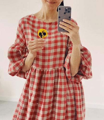 Women's linen dress OLIVIA