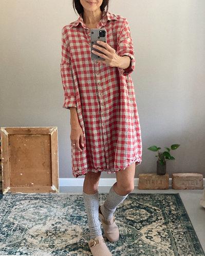 Women's linen dress AUDREY