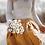 Thumbnail: Women's linen skirt with buttons