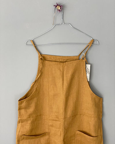 Women's overalls JACKY, ochre, M