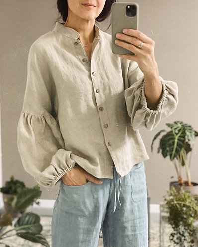 Women's linen top EVA