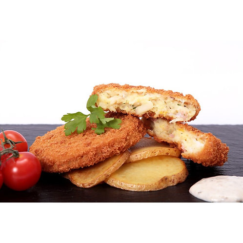 ##2 FOR £10## Cod Bacon & Brie Fishcakes x 460g